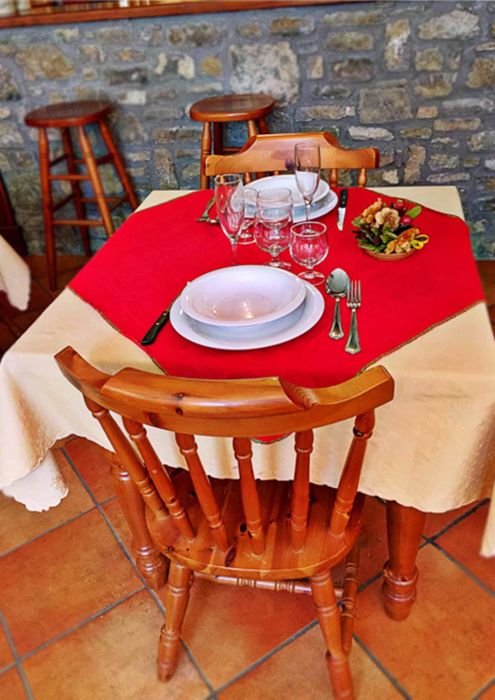 Ristorante Genzianella tavolo sf